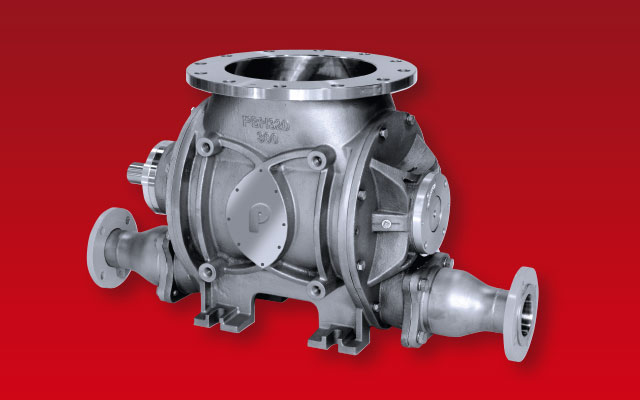 Powder Blow-through Rotary Valve High Pressure – PBH
